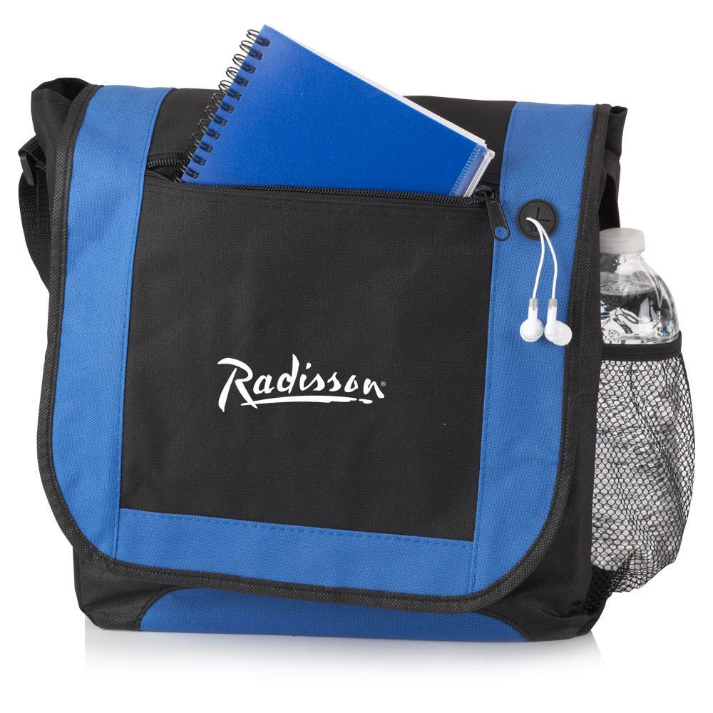 Budget-Friendly Briefcase/Messenger Bag - Personalization Available