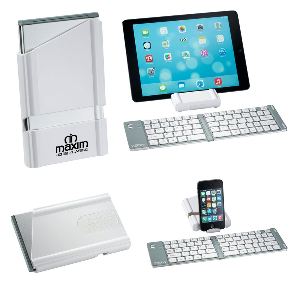 ZOOM Gridlock Bluetooth Keyboard - Personalization Available