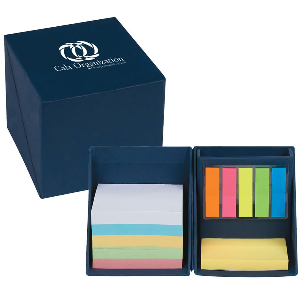 Recycled Note Cube Holder - Personalization Available