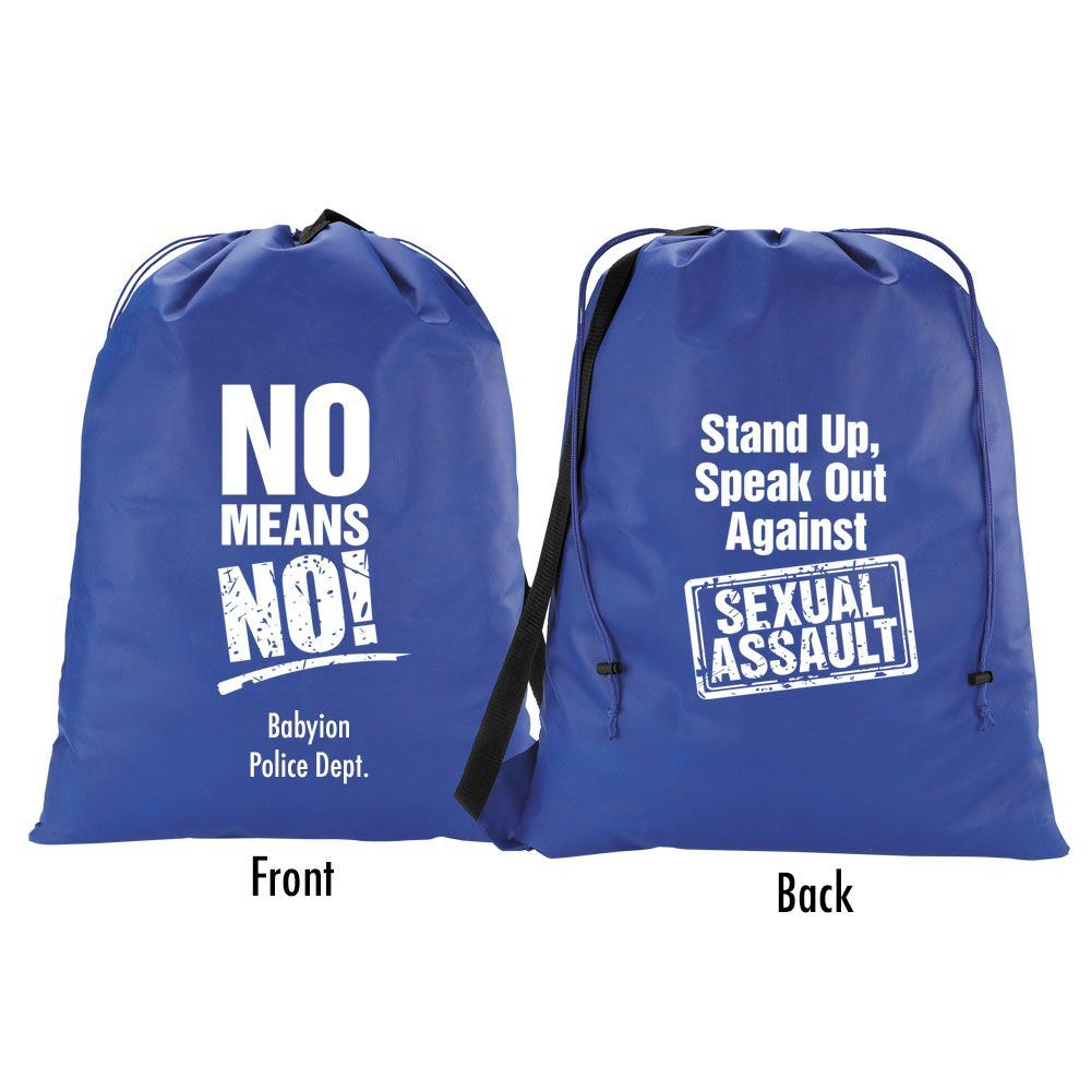 Stand Up Speak Out Laundry Bag Personalization Available