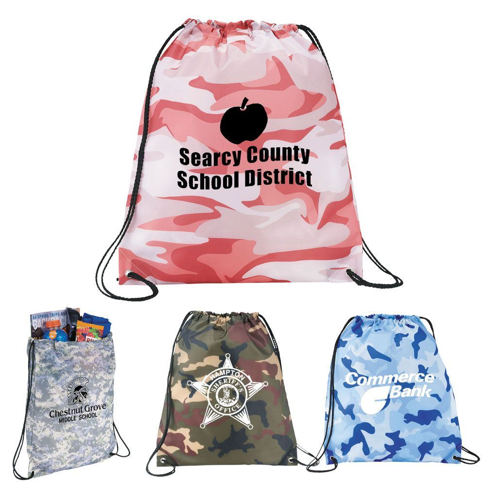 Camo Backpack - Personalization Available