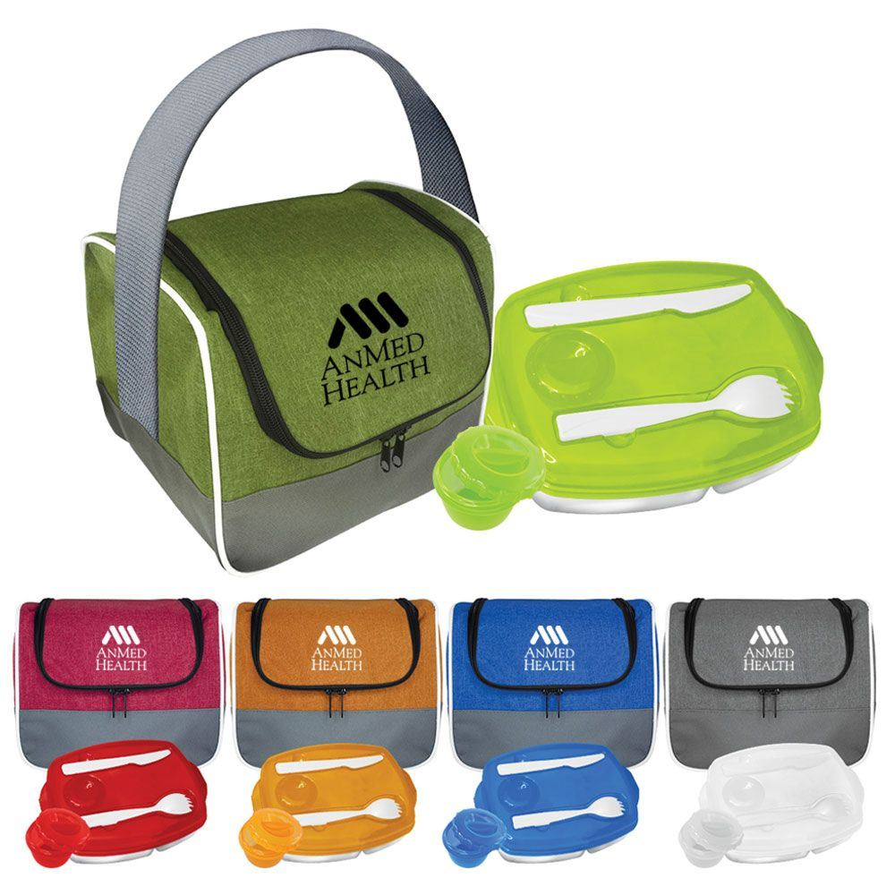 Lunch Bag and Locking Tray Set - Personalization Available