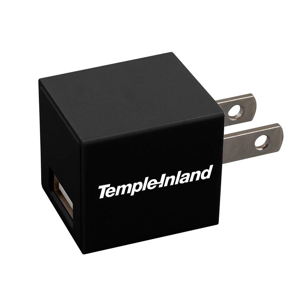 Square USB Wall Charger - Personalization Available