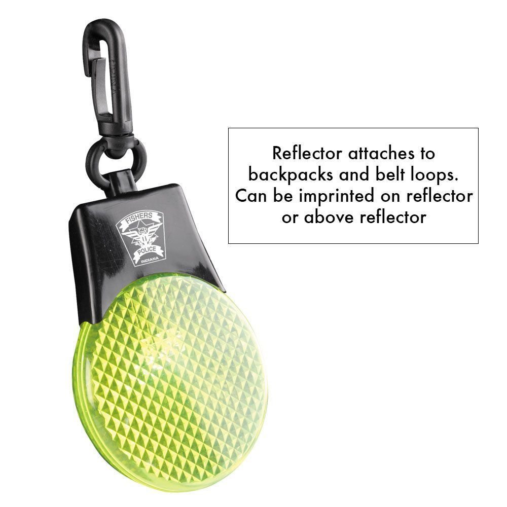 Flashing Reflector Light - Personalization Available