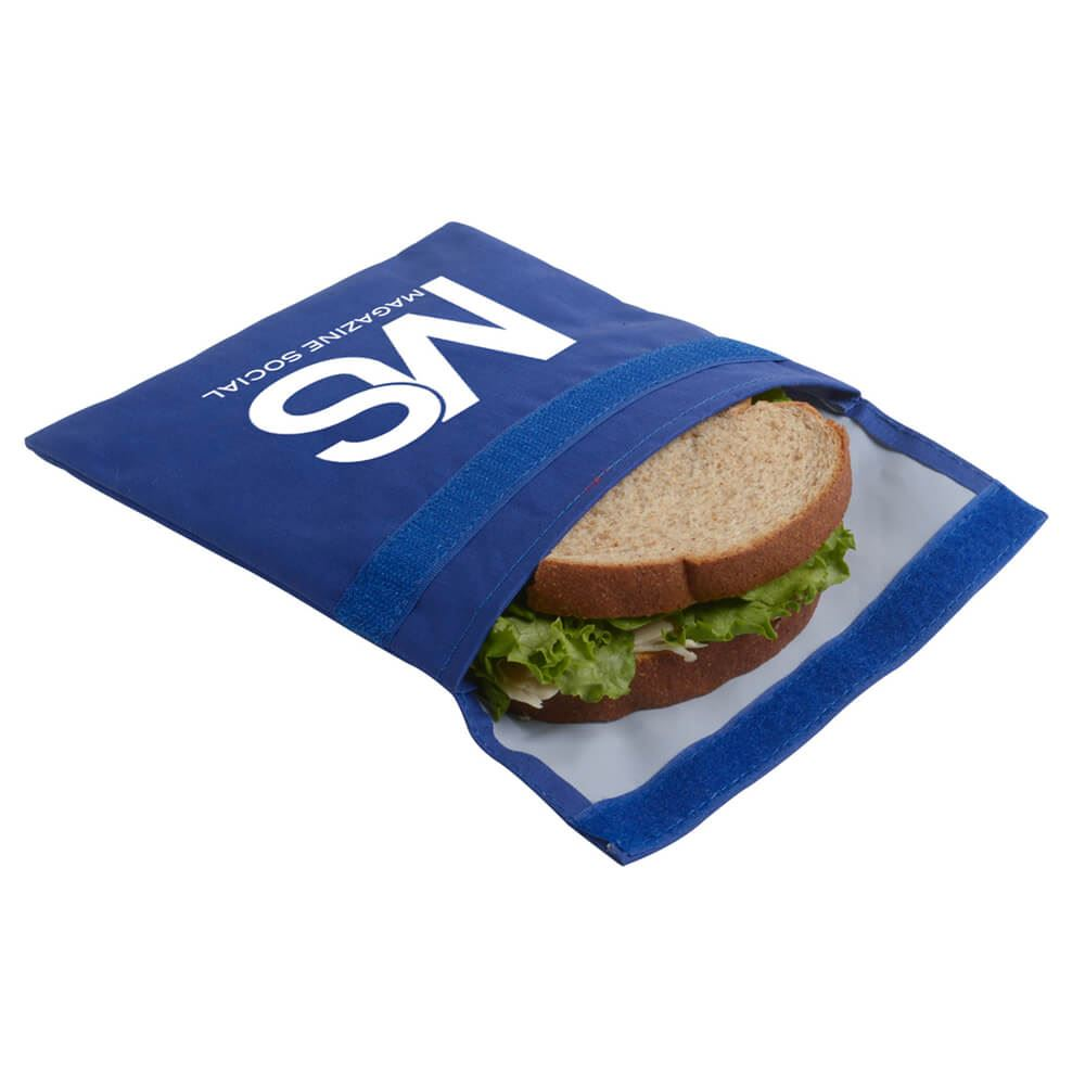 Reusable Sandwich And Snack Bag - Personalization Available