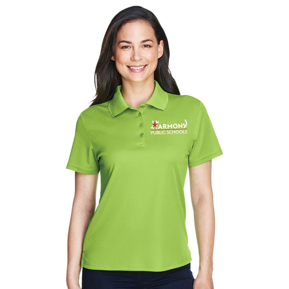 Core 365® Women's Pique Performance Polo with Antimicrobial Additive - Embroidery Personalization Available