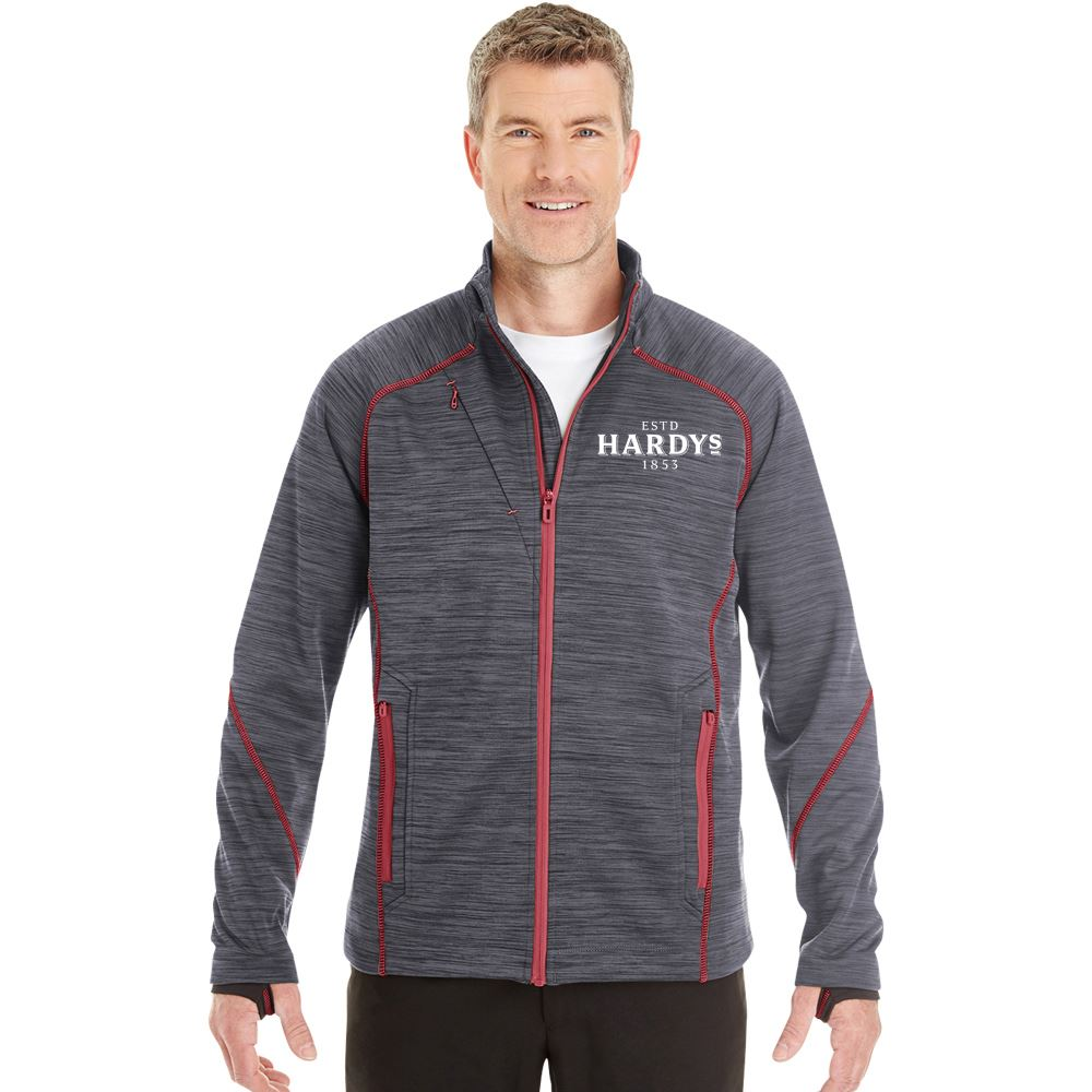 Men's North End® Melange Bonded Fleece Jacket - Embroidery Personalization Available
