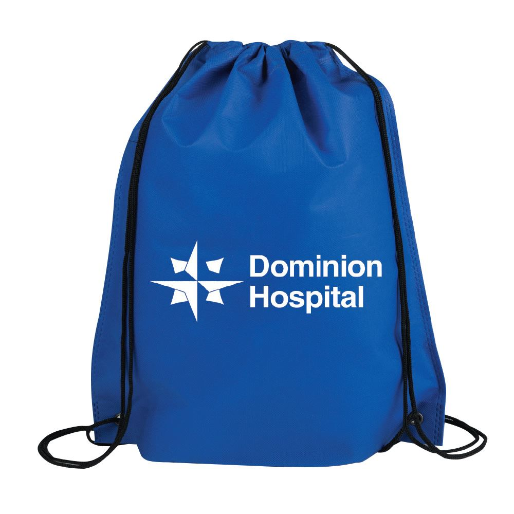 Drawstring Backpack (Polypropylene) - Personalization Available