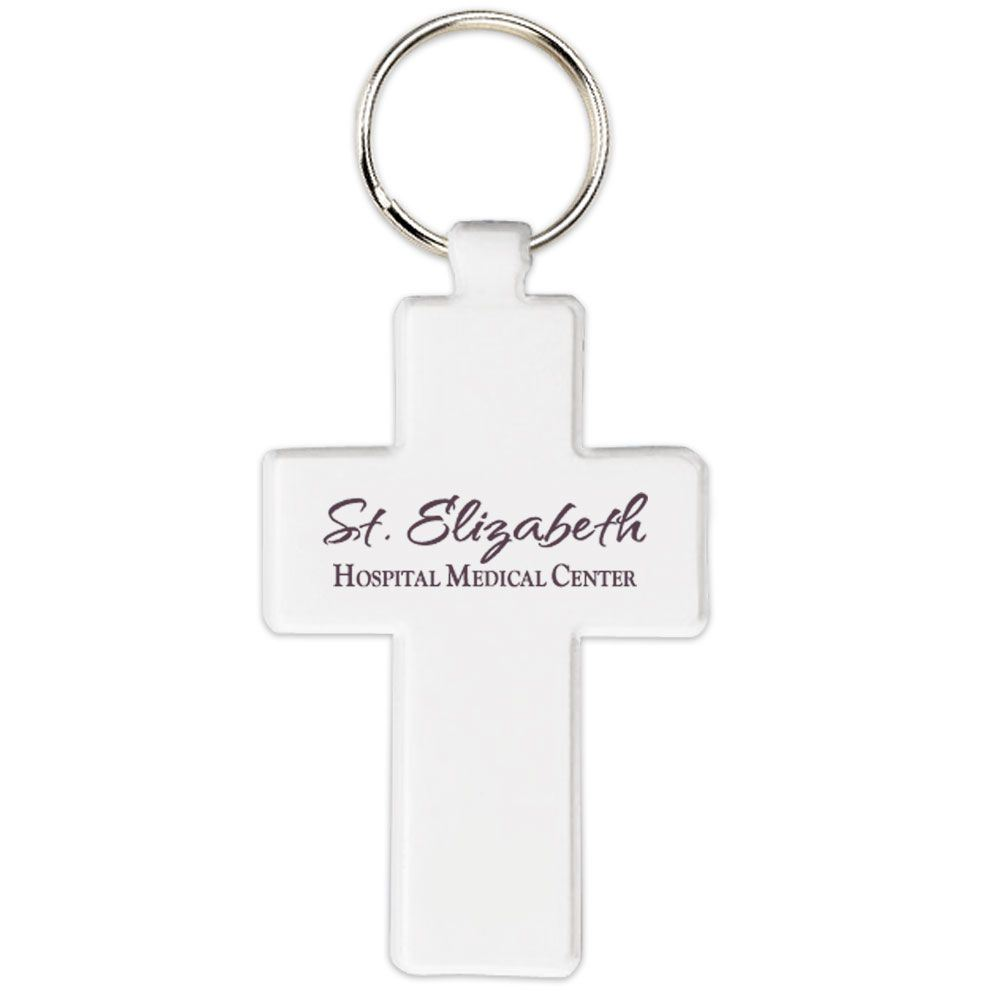 Cross Design Key Tag - Personalization Available