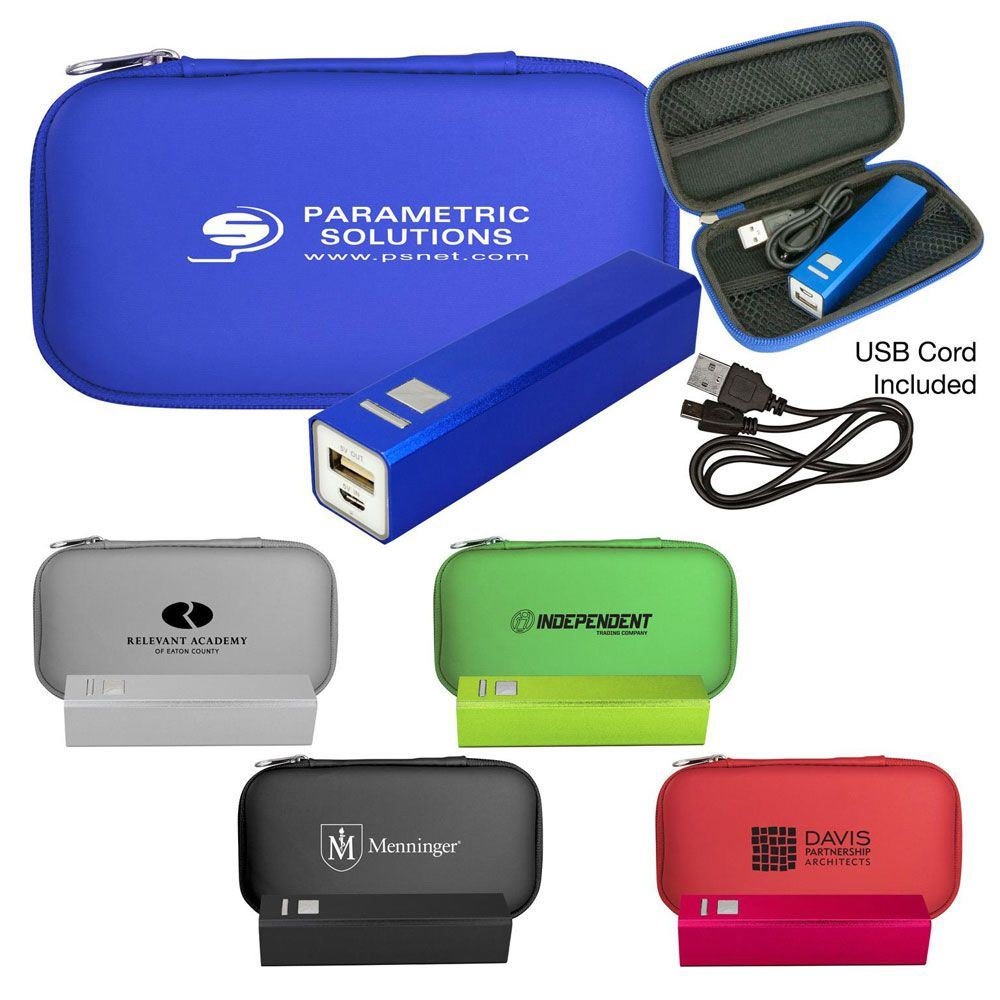 Executive Power Bank Set - Personalization Available