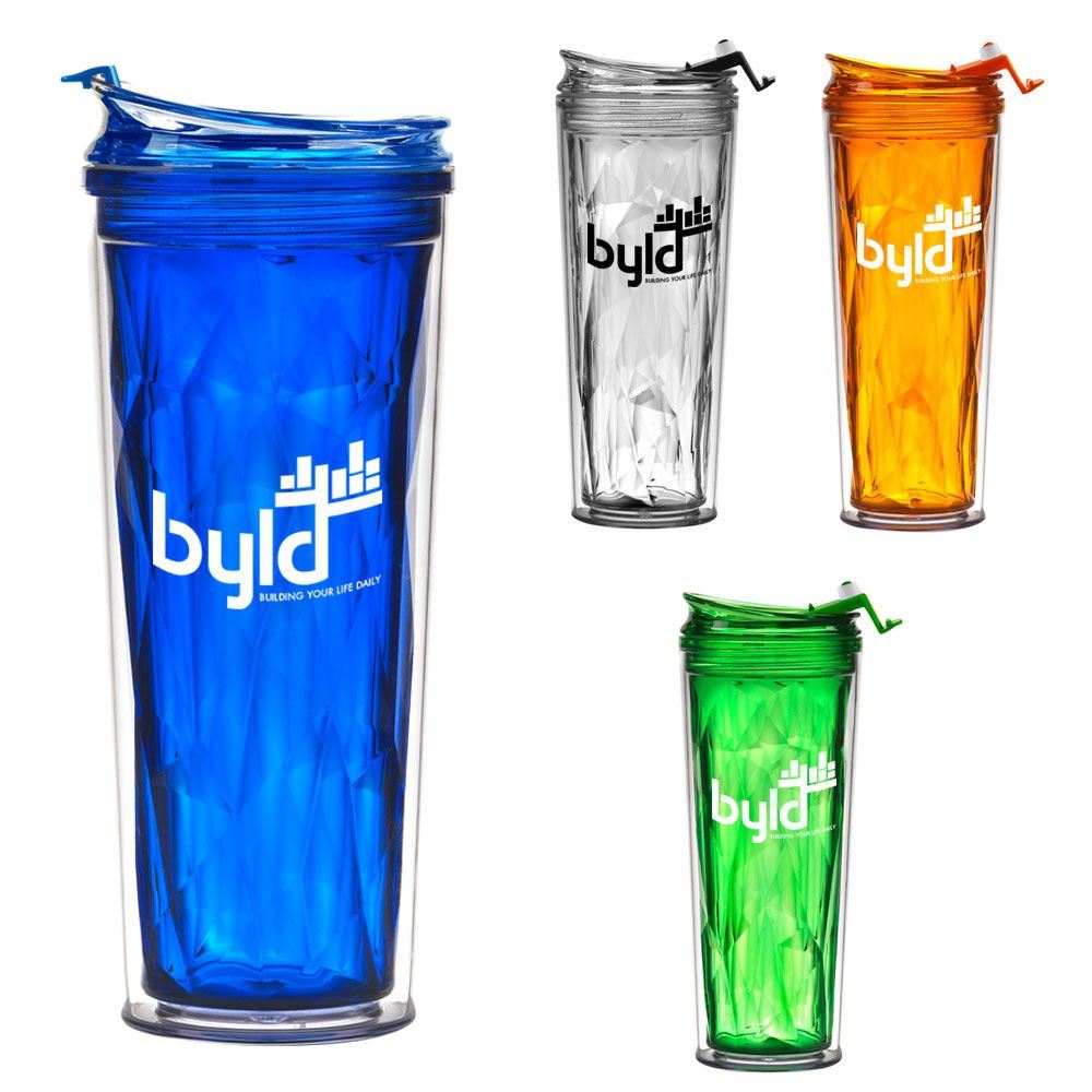 Tiara Double Wall Tumbler 18-oz. - Personalization Available