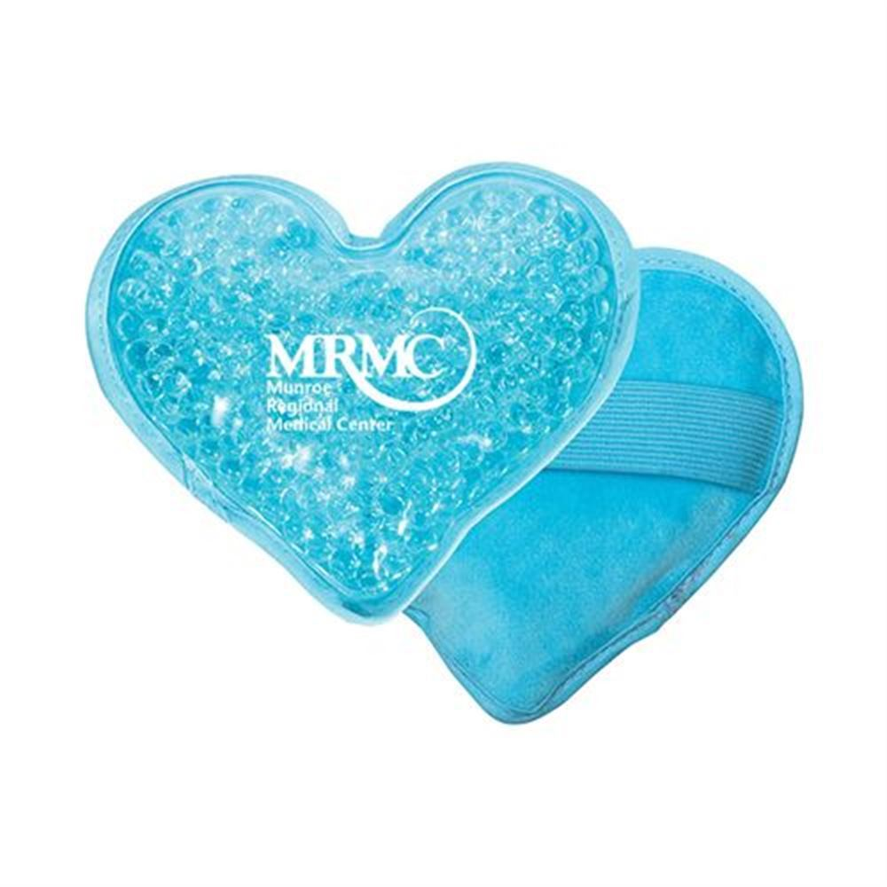 Plush Heart Hot/Cold Pack - Personalization Available