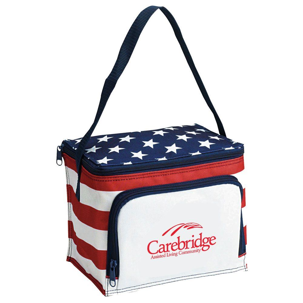 Stars & Stripes Deluxe Cooler Bag - Personalization Available