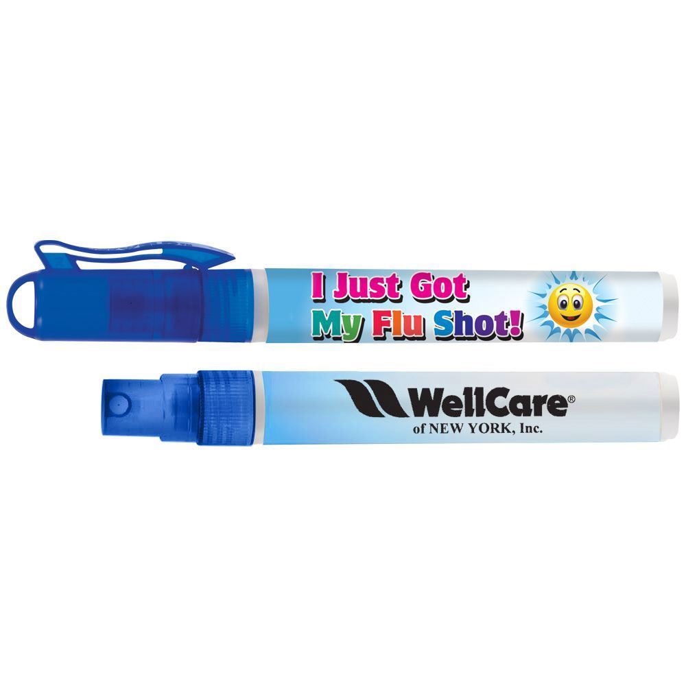 I Just Got My Flu Shot Antibacterial Hand Sanitizer Pocket Sprayer With Personalization