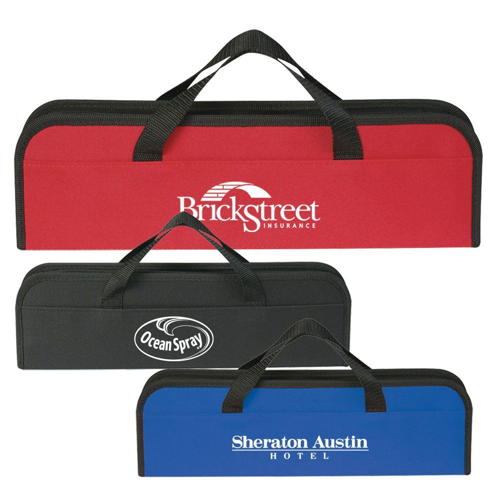 3-Piece BBQ Set In Case - Personalization Available