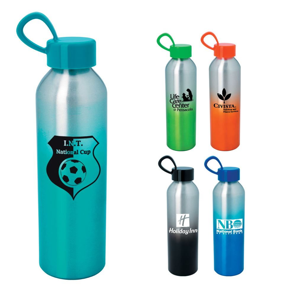 Aluminum Chroma Bottle 21-oz. - Personalization Available