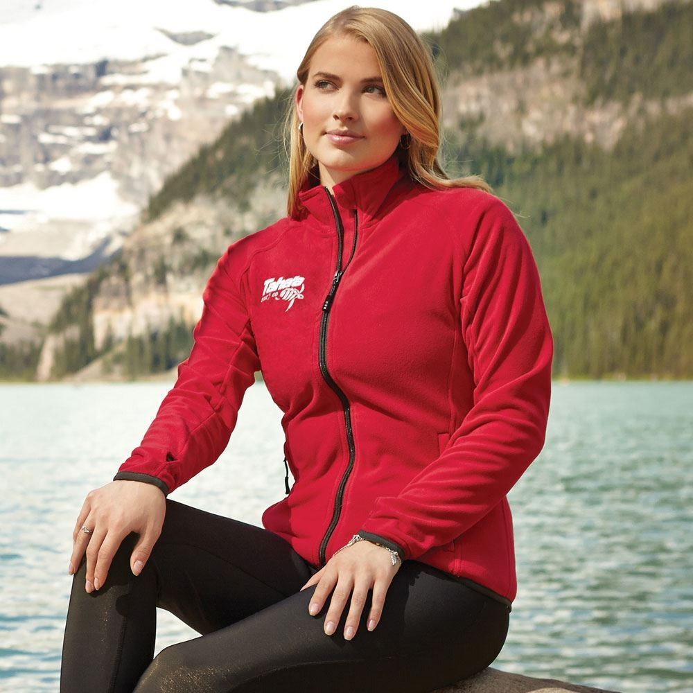 Women's Rixford Polyfleece Jacket - Embroidery Personalization Available