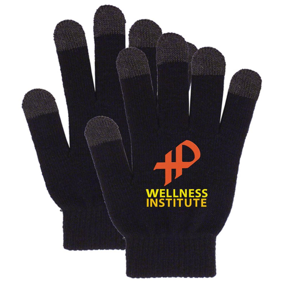 Touchscreen Acrylic Gloves - Embroidery Personalization Available
