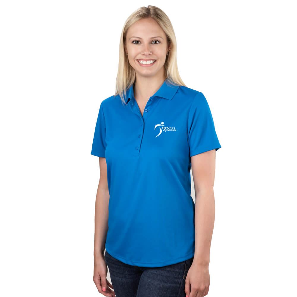 Women's Edge Short Sleeve Polo - Embroidery Personalization Available