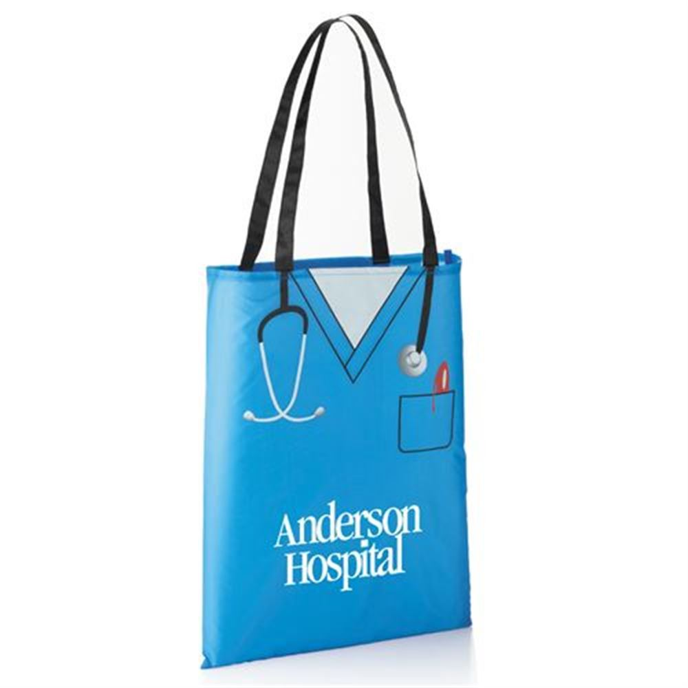 Convertible Scrubs Tote (24-Hour Fast Track) - Personalization Available