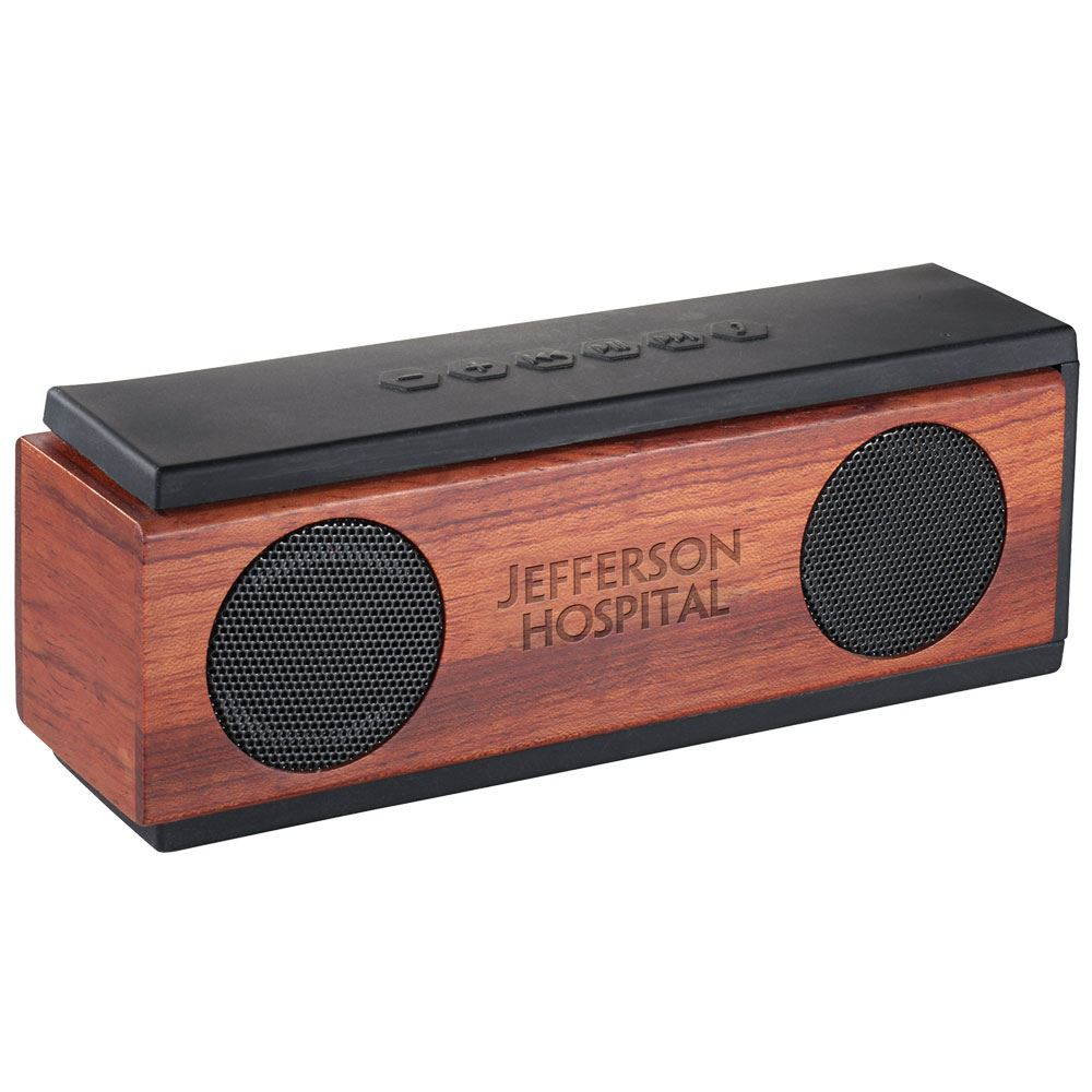 Native Wooden Bluetooth® Speaker - Personalization Available