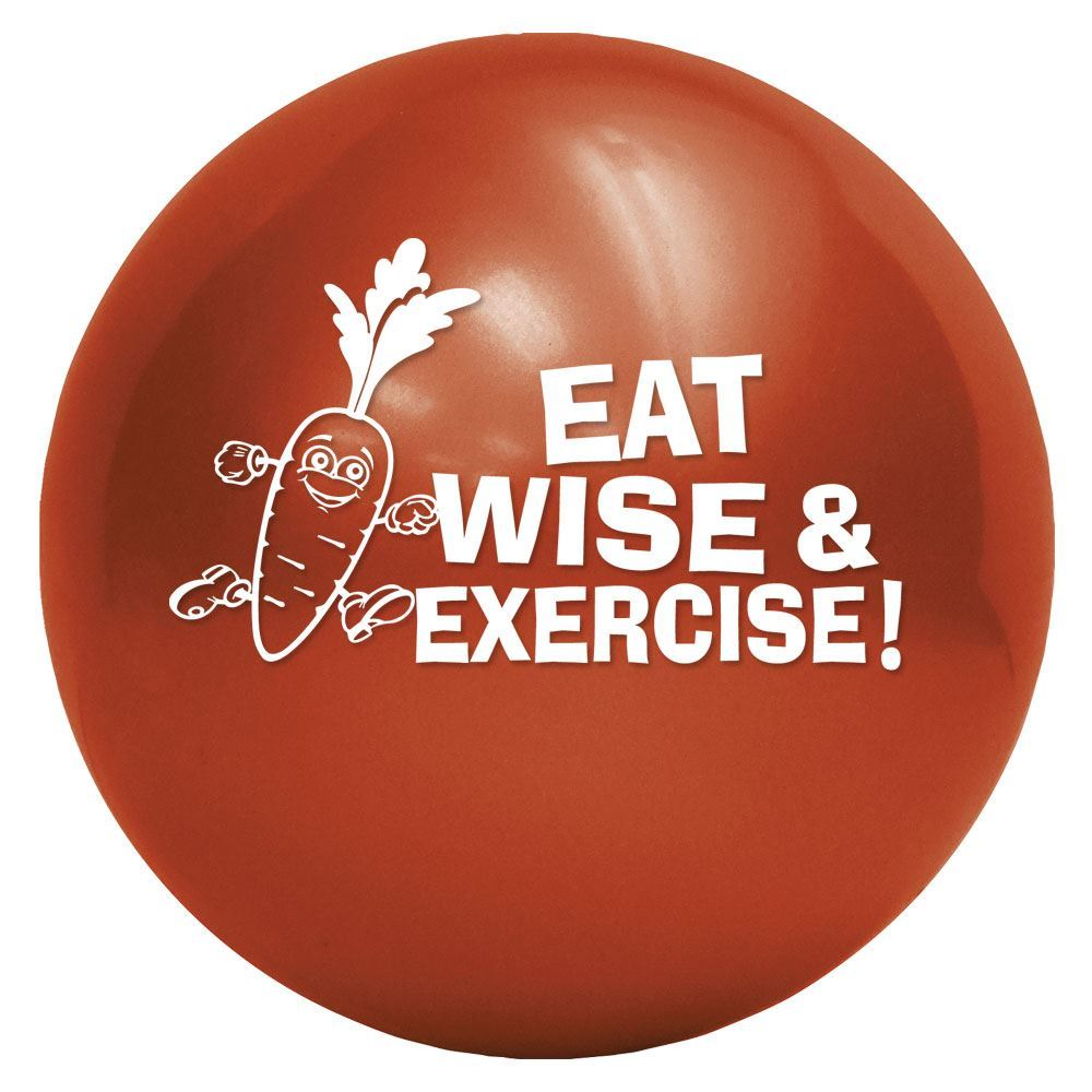 Eat Wise & Exercise! Play Ball - Personalization Available