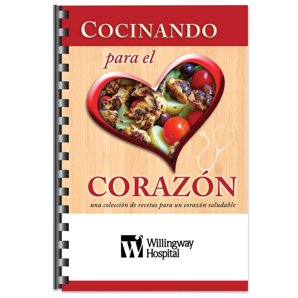 Cocinando Para El Corazon Recipe Cookbook (Spanish) - Personalization Available