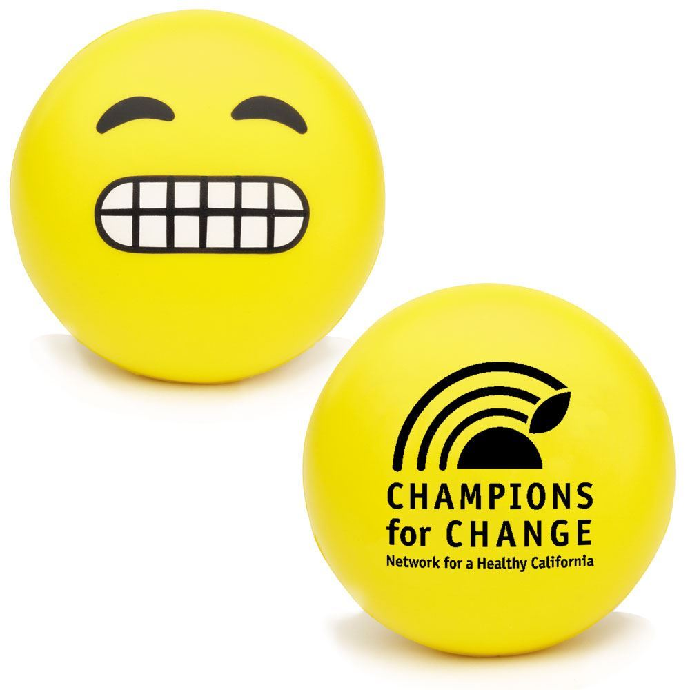 Yikes Emoji Squeezies® Stress Reliever - Personalization Available