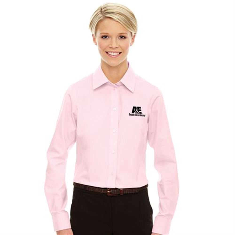 Devon & Jones® Women's Crown Collection™ Solid Oxford - Embroidery Personalization Available