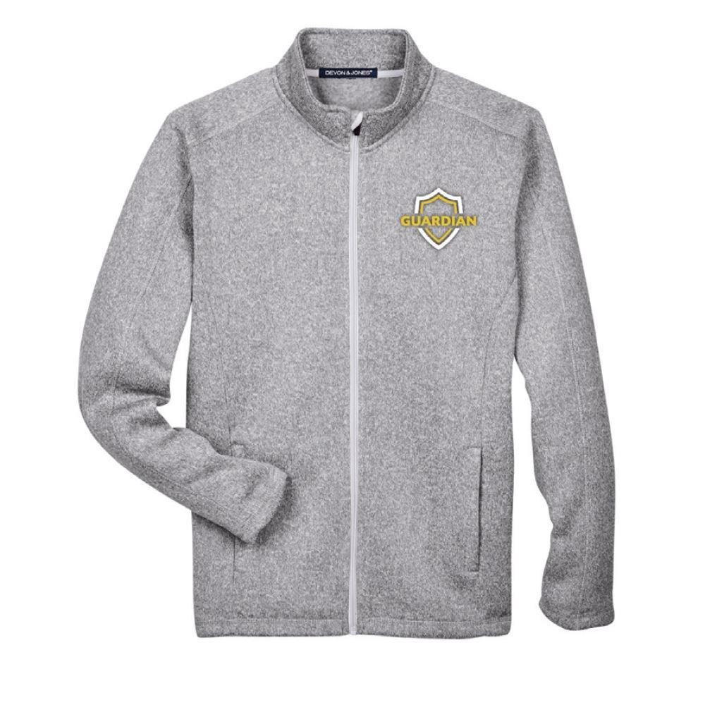 Devon & Jones® Men's Bristol Sweater Fleece Full-Zip - Embroidery Personalization Available