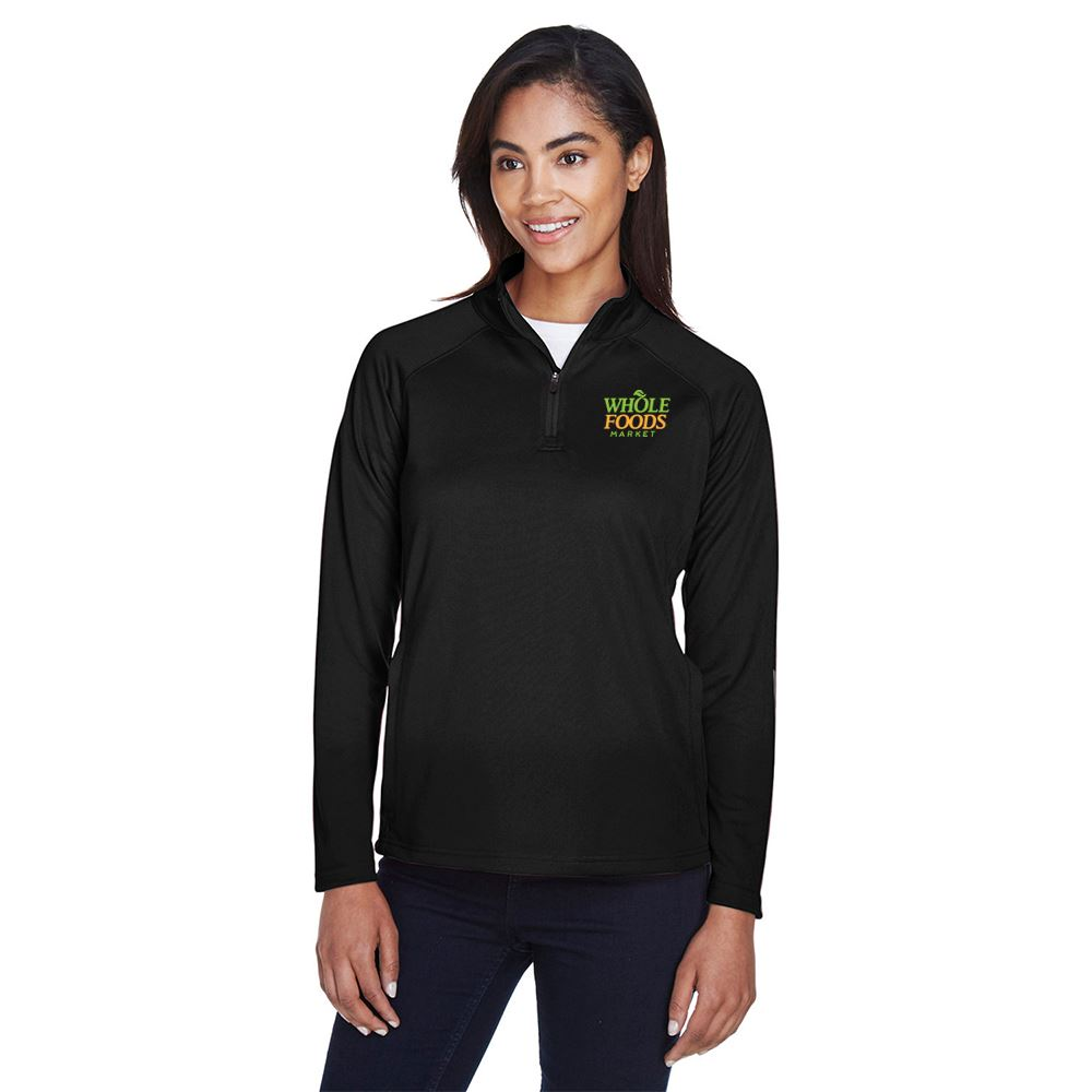 Devon & Jones® Women's Stretch Tech-Shell® Compass Quarter-Zip - Personalization Available