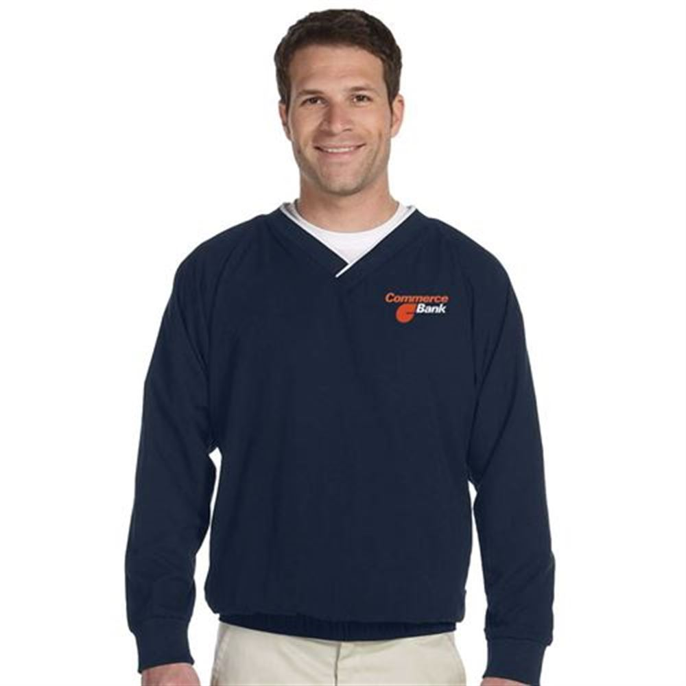 Harriton® Microfiber Wind Shirt - Embroidery Personalization Available