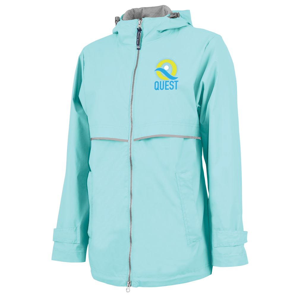 Charles River Apparel® Women's New Englander Rain Jacket - Personalization Available