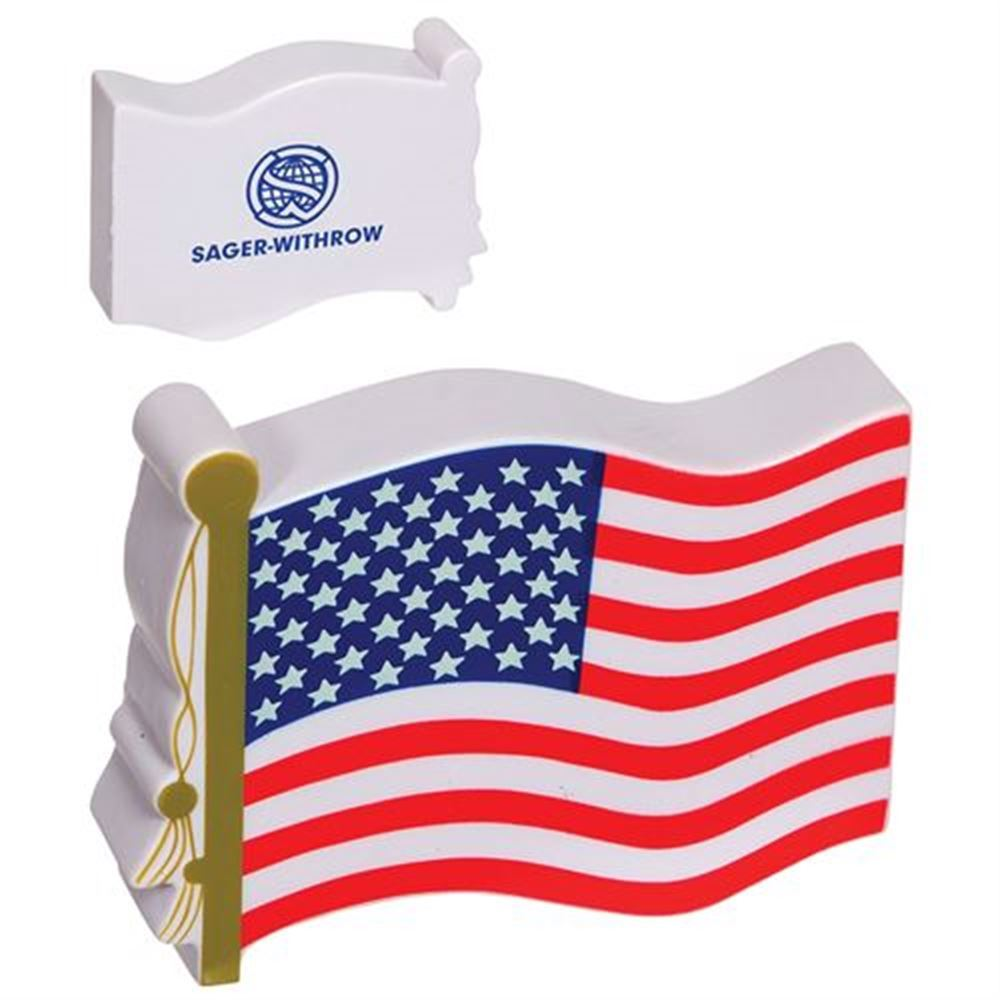 US Flag Stress Reliever - Personalization Available