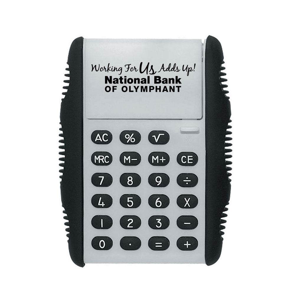 Working For Us Adds Up Flip Calculator - Personalization Available