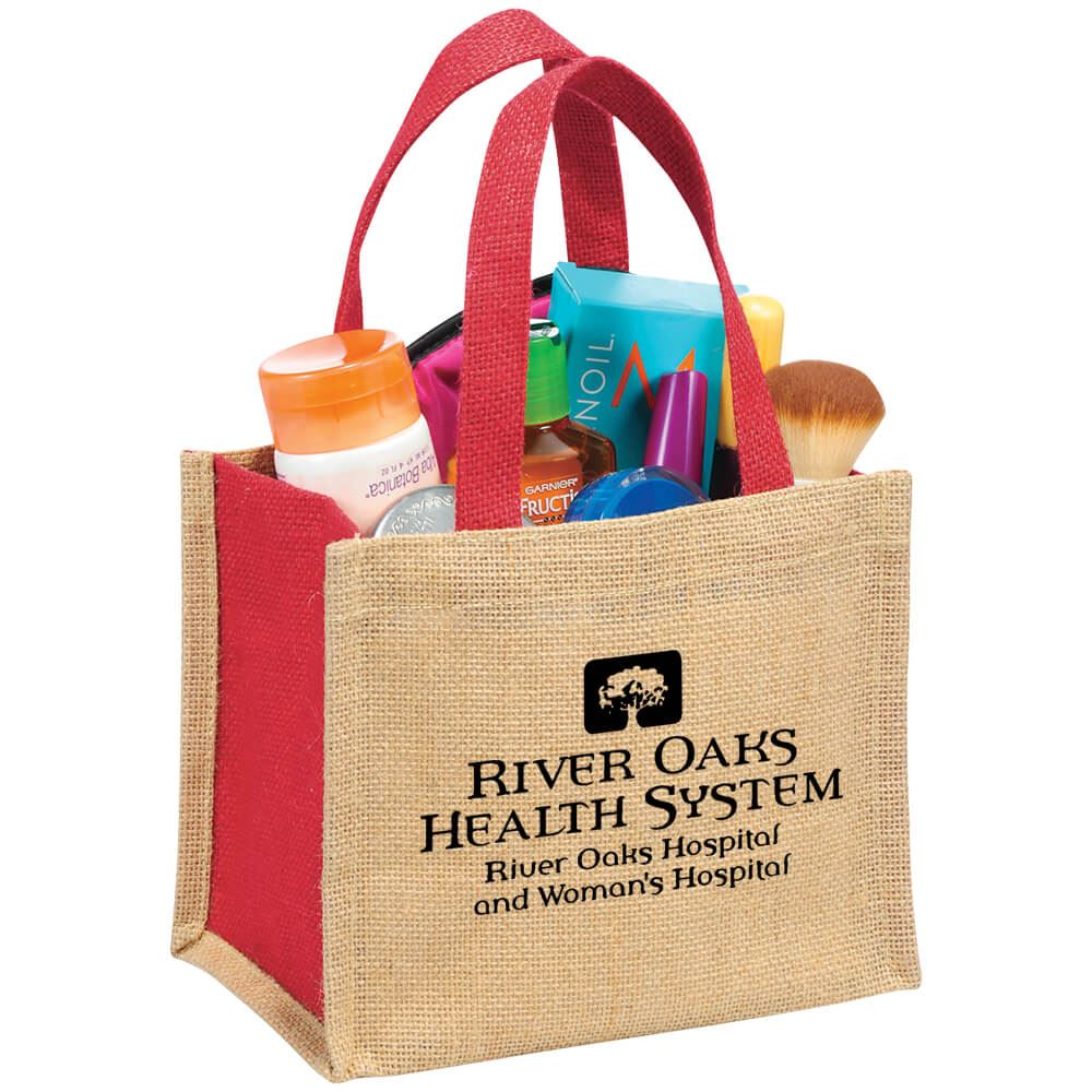 The Mini Jute Gift Tote - Personalization Available