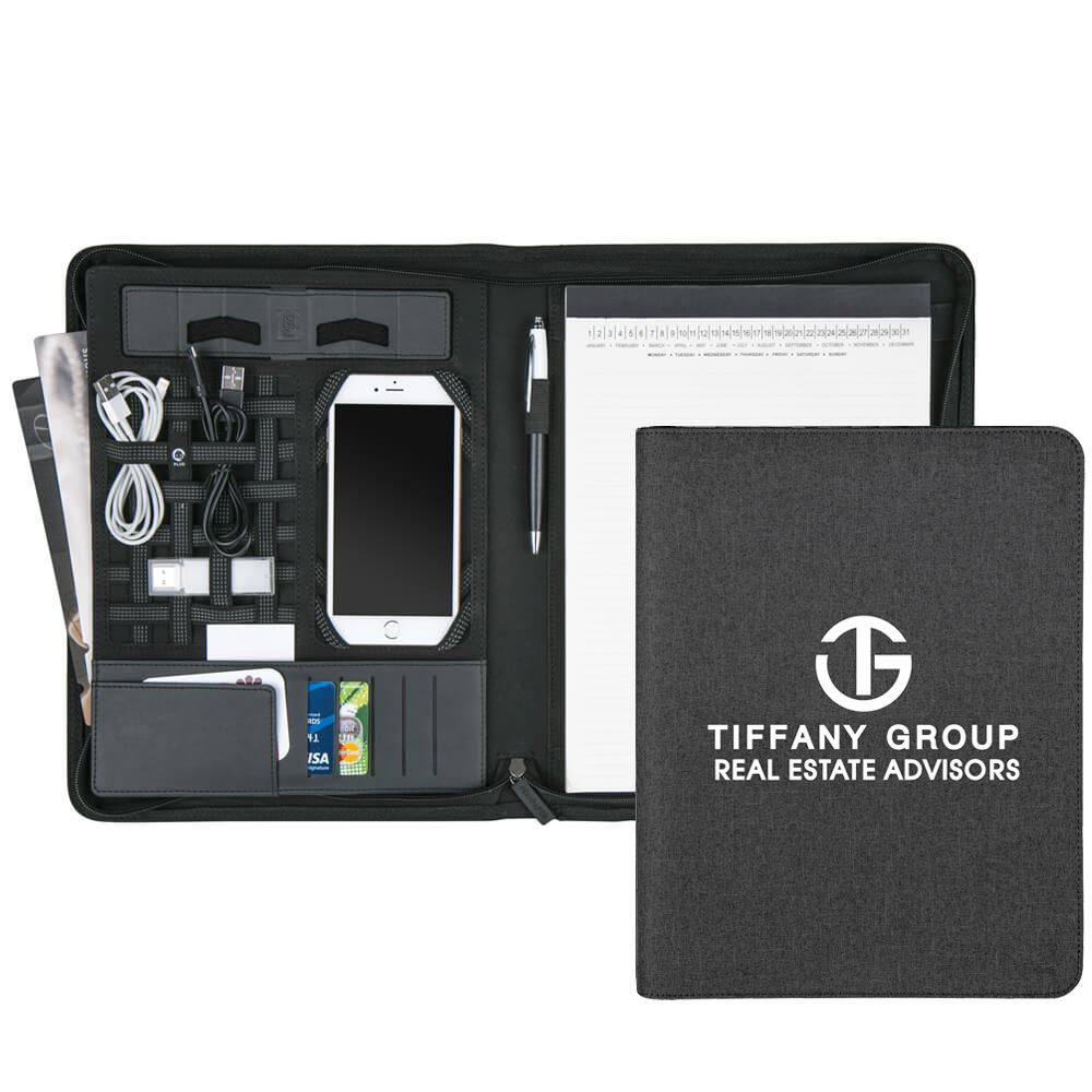 2-In-1 Fremont 5000 mAh UL® Power Bank Portfolio - Personalization Available