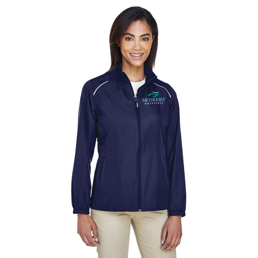 Core 365™ Women's Motivate Unlined Lightweight� Jacket - Embroidered Personalization Available