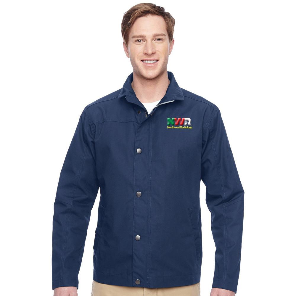 Men's Harriton® Canvas Work Jacket - Embroidery Personalization Available