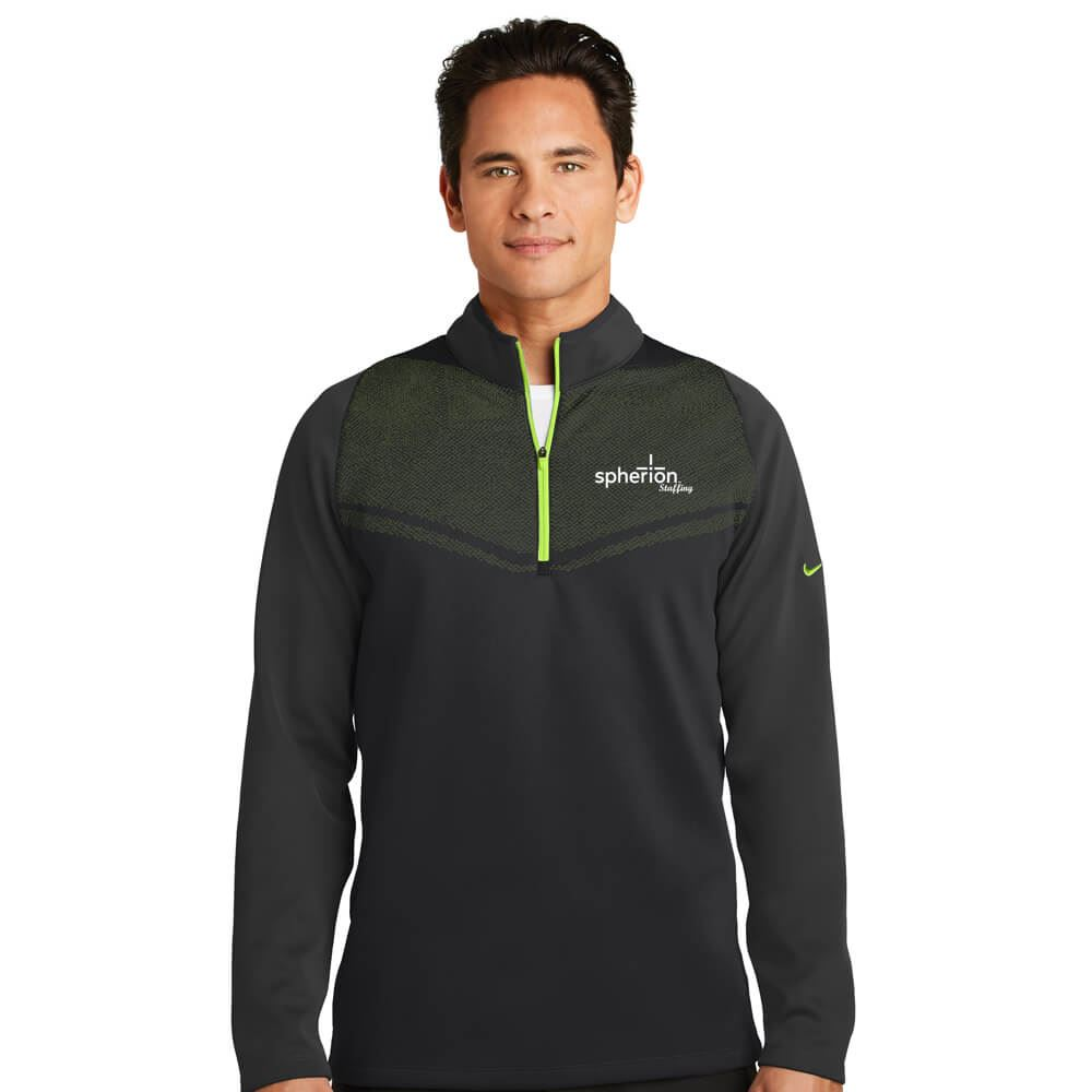 Nike® Golf Therma-FIT Hypervis 1/2-Zip Cover-Up - Personalization Available