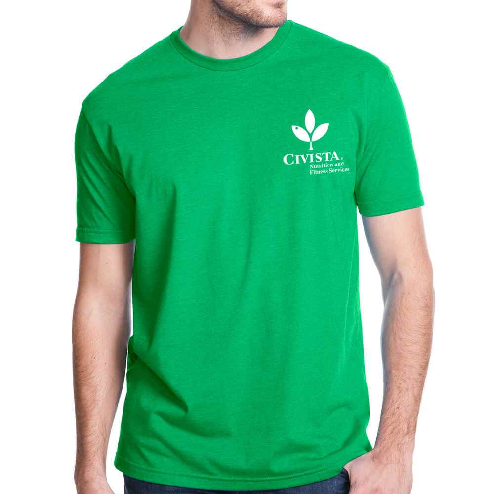 Next Level® Men's Premium Fitted Blended Crew Tee - Silkscreened� Personalization Available