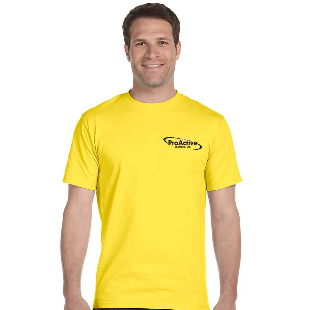Hanes® 5.2 oz. ComfortSoft® Cotton T-Shirt - Personalization Available