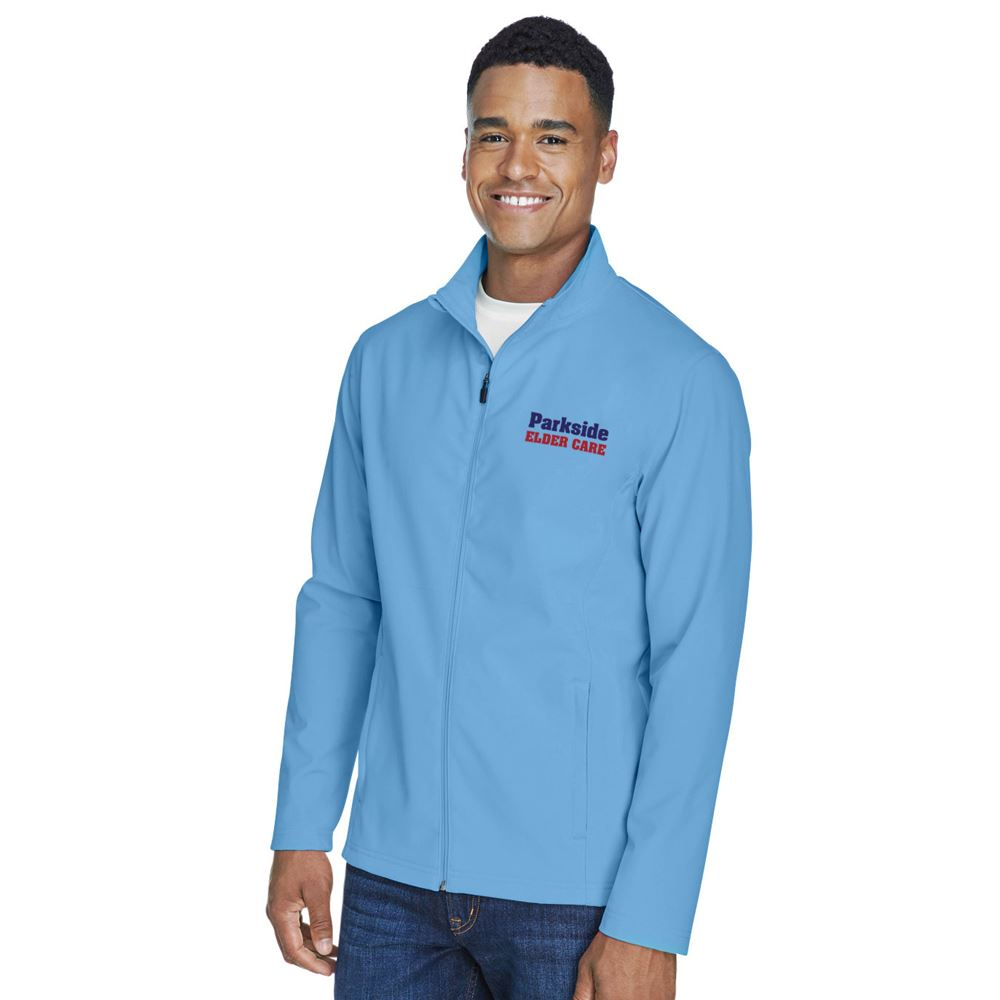 Team 365® Leader Men's Soft Shell Jacket - Personalization Available
