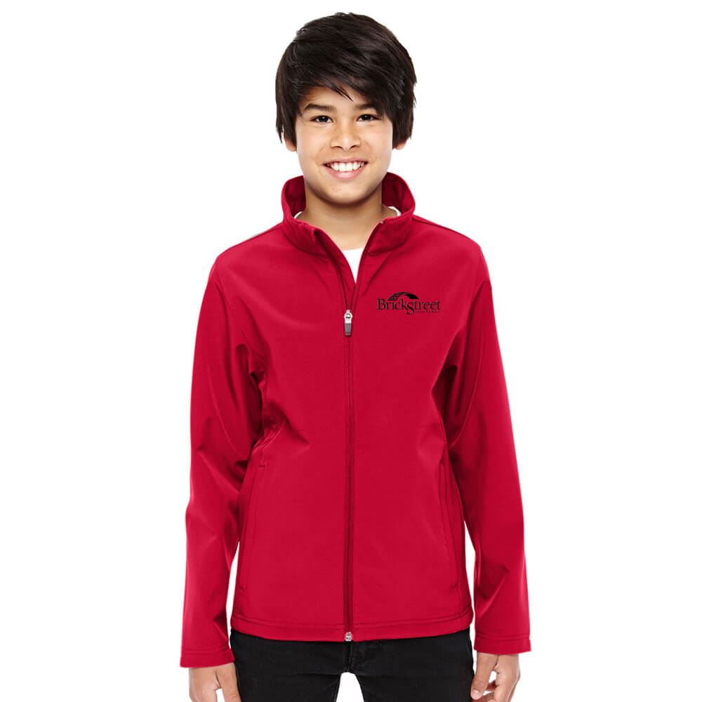 Team 365® Leader Youth Soft Shell Jacket - Personalization Available