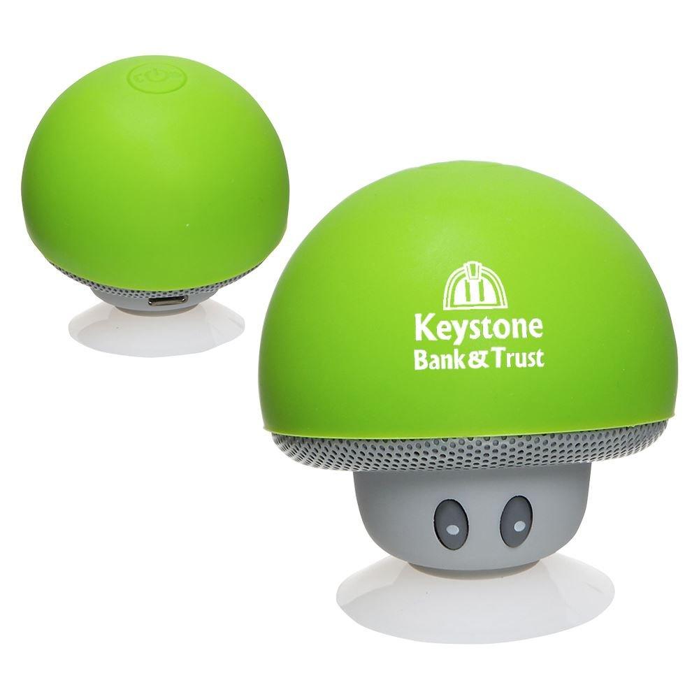 Upbeat Mini Mushroom Bluetooth® Speaker - Personalization Available