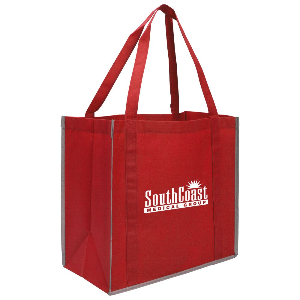 Reflective Grocery Tote - Personalization Available