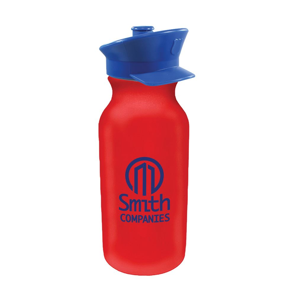Police Hat Plastic Water Bottle 20-Oz. - Personalization Available