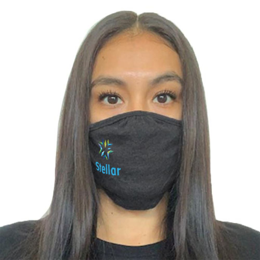 Next Level Adult CVC Recycle Mask - Full Color Personalization