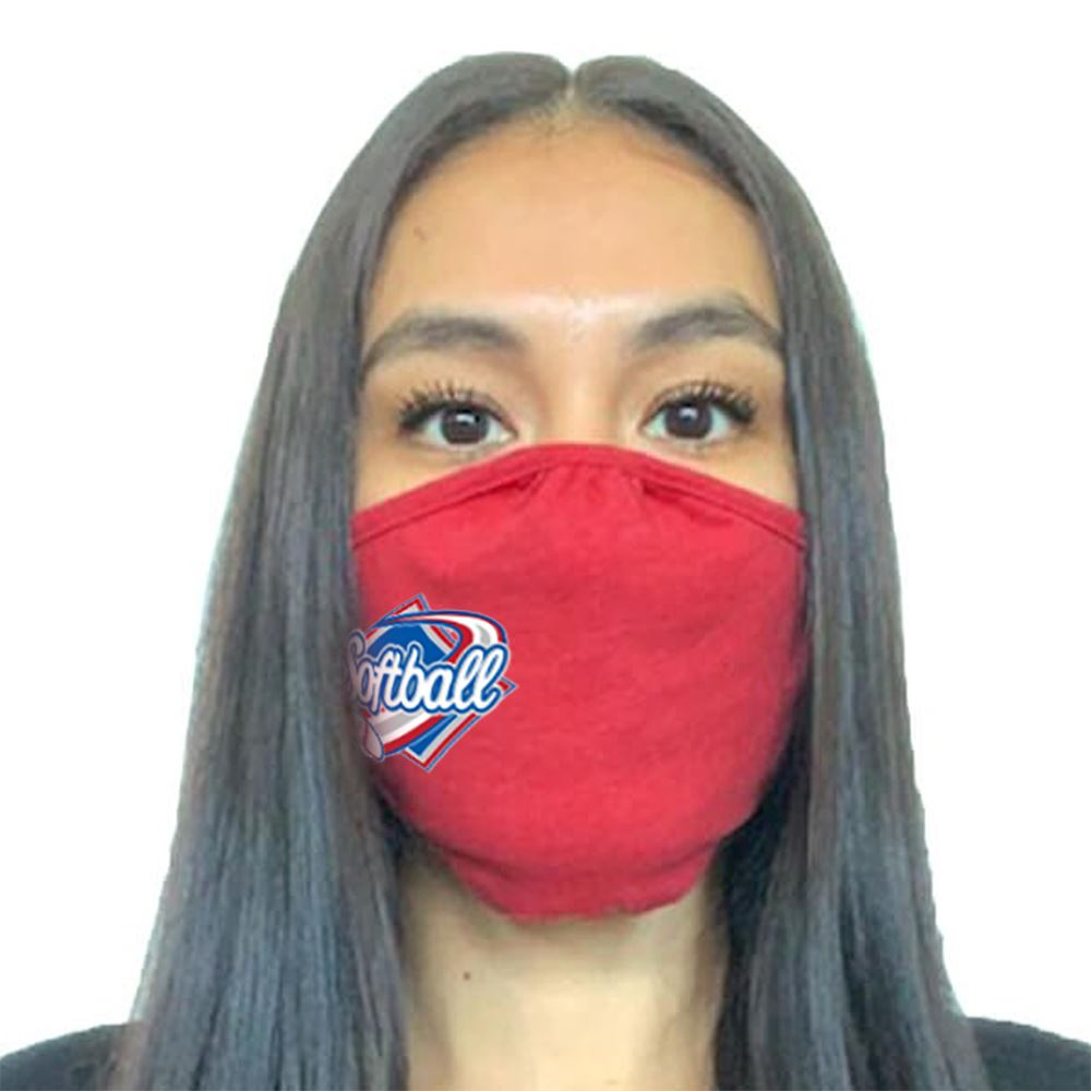 Next Level Adult Tri-Blend Face Mask - Full Color Personalization Available