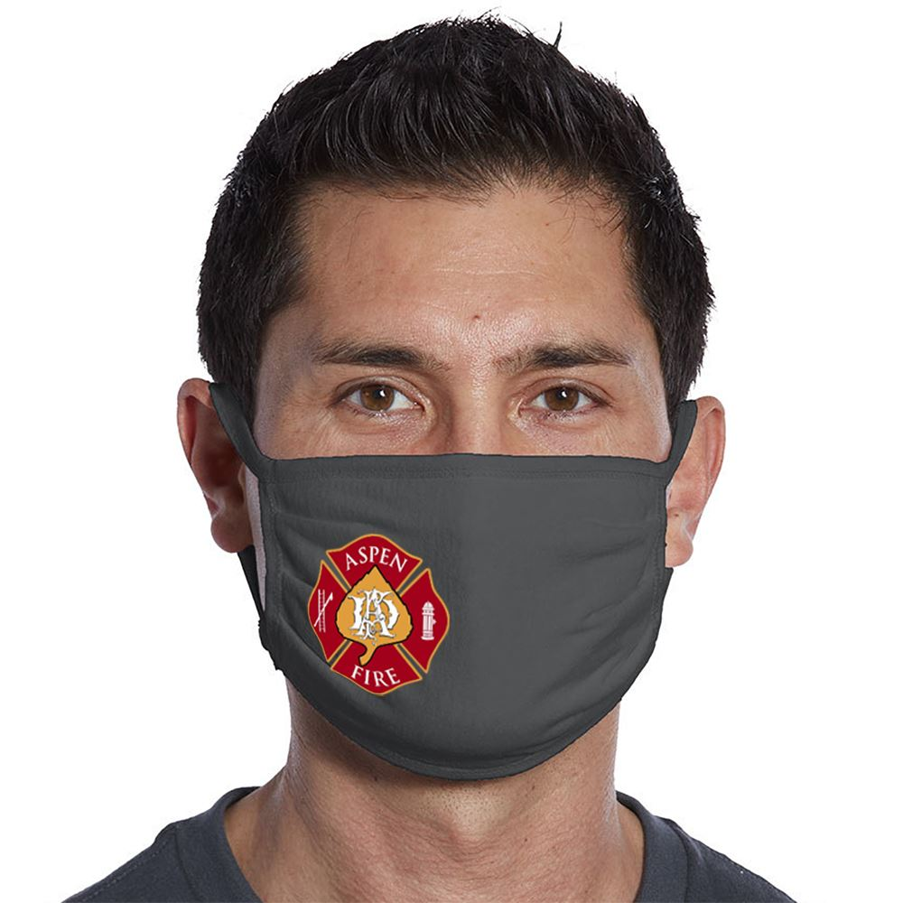 Port Authority® 3-Ply 100% Cotton Face Mask - Full Color Personalization Available